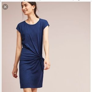 Adorable side tie dress from Anthropologie!